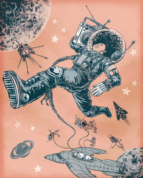 Space Boombox