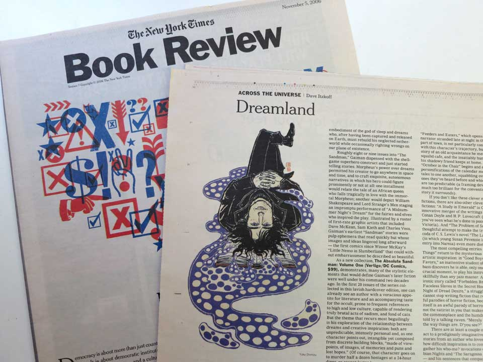 Ny Times Book Review Neil Gaiman Yuko Shimizu
