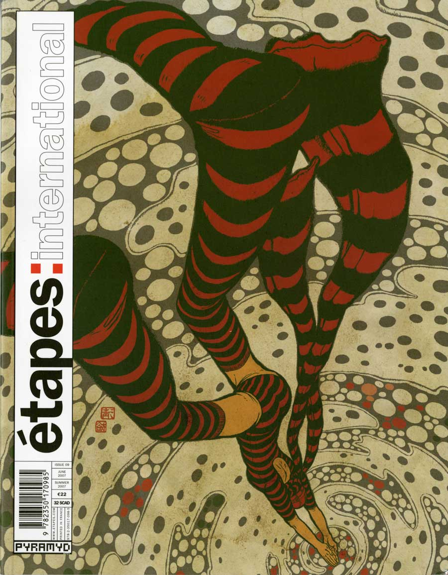 etapes: international magazine cover