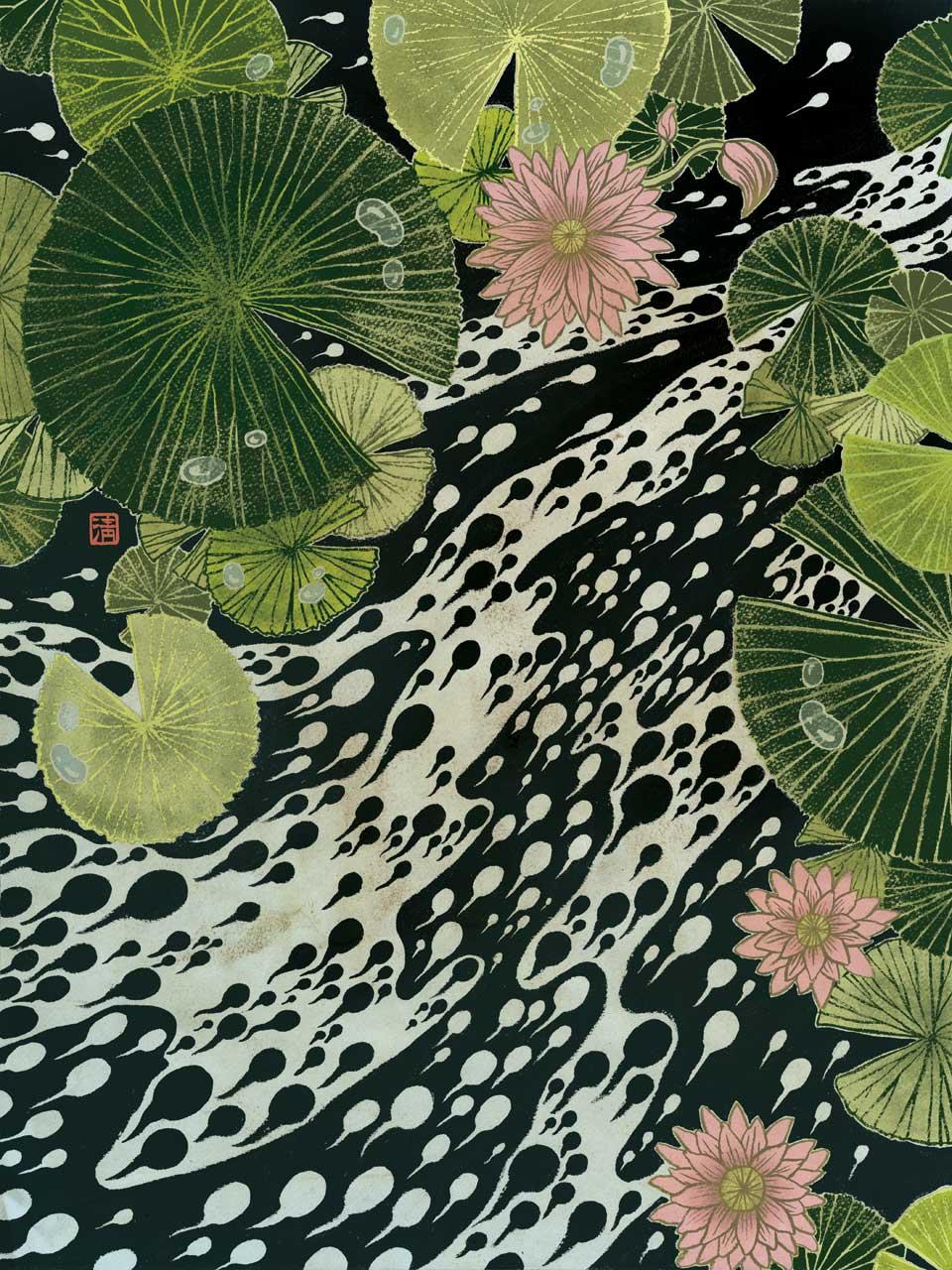 Yuko Shimizu - FROGFOLIO calendar 1 - Frogfolio calendar