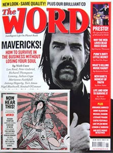 Word Magazine Cover