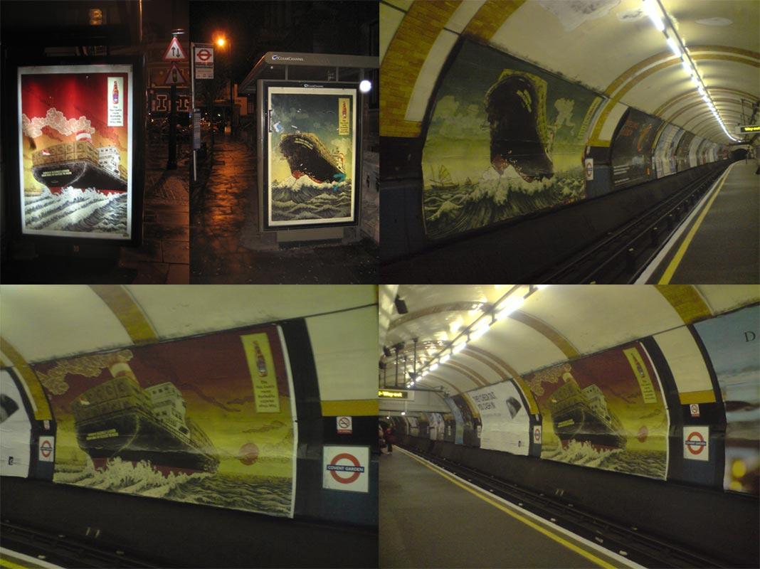 Tiger Beer Ad: London