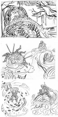 Spectrum: Concept Sketch