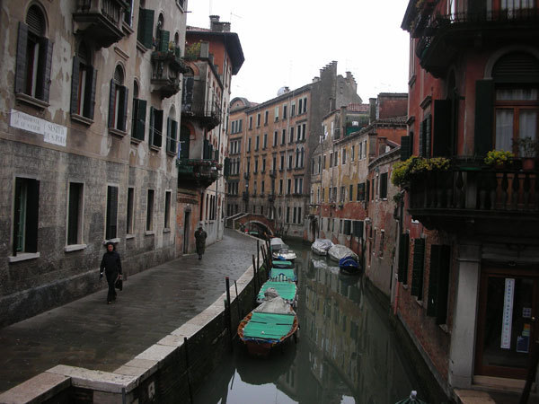 Tale Of Four Canal Cities: Venice