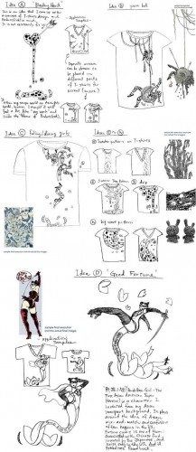 Gap (PRODUCT) RED: Sketches