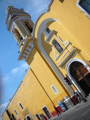 Puebla, Mexico (June 2009): Church