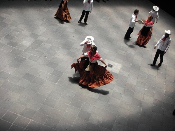 Puebla, Mexico (June 2009): Sunday Dance Show