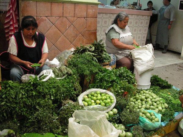 Puebla, Mexico (June 2009): Food Market