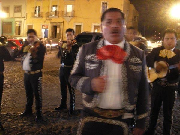 Puebla, Mexico (June 2009): Mariachi