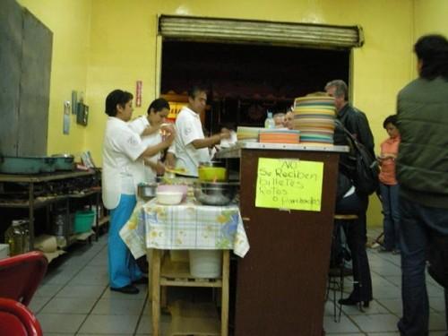 Puebla, Mexico (June 2009): Posole