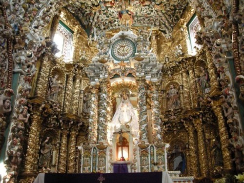 Puebla, Mexico (June 2009): Santa Maria Church