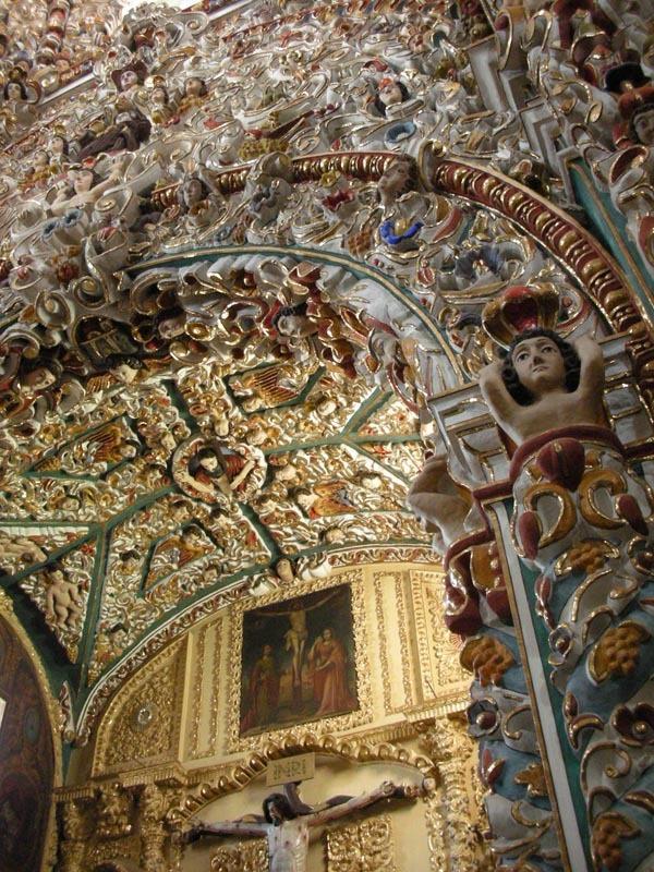 Puebla, Mexico (June 2009): Santa Maria Church 2