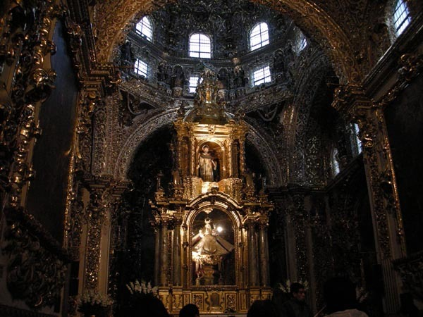 Puebla, Mexico (June 2009): Santa Maria Church 3