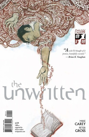 The Unwritten (June 2009): Main Cover