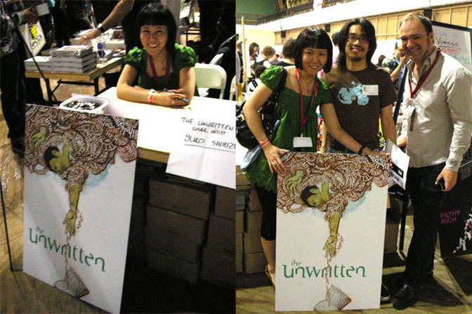 The Unwritten (June 2009): Booth