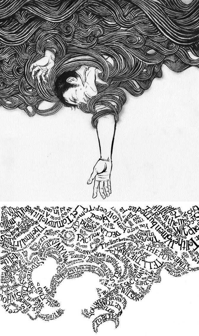 The Unwritten (June 2009): Black & White Cover