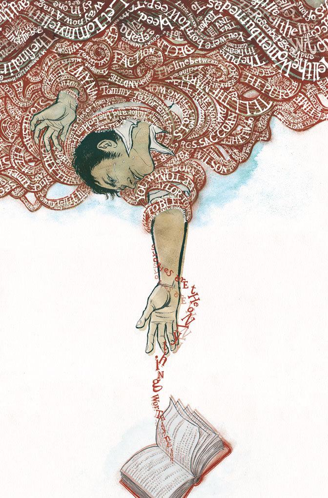 The Unwritten (June 2009): Colored Cover