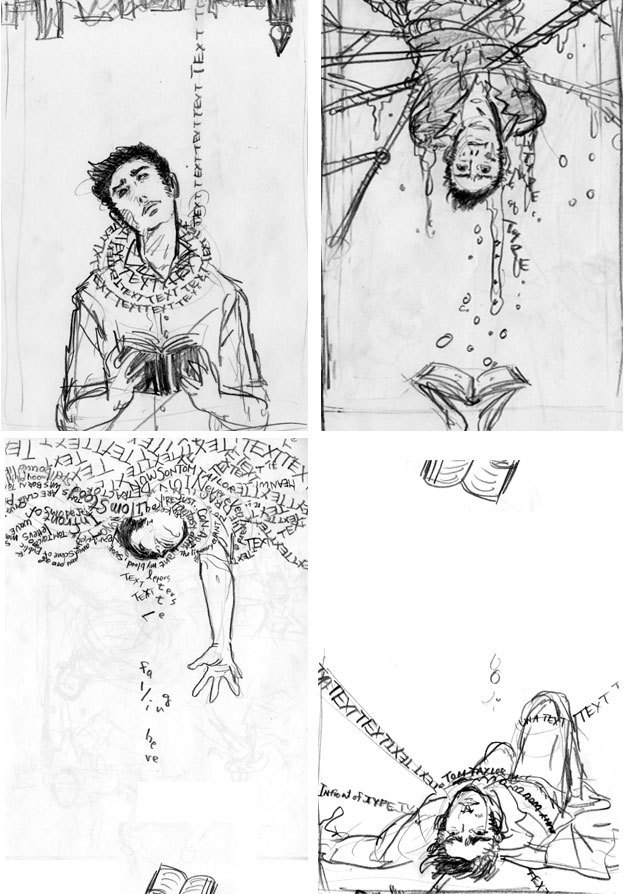 The Unwritten (June 2009): 2nd Sketches Of Tommy