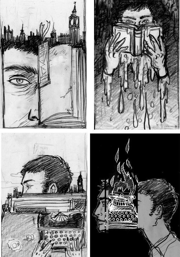 The Unwritten (June 2009): Unused Sketches