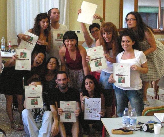 Teatrio: August 2009 Class