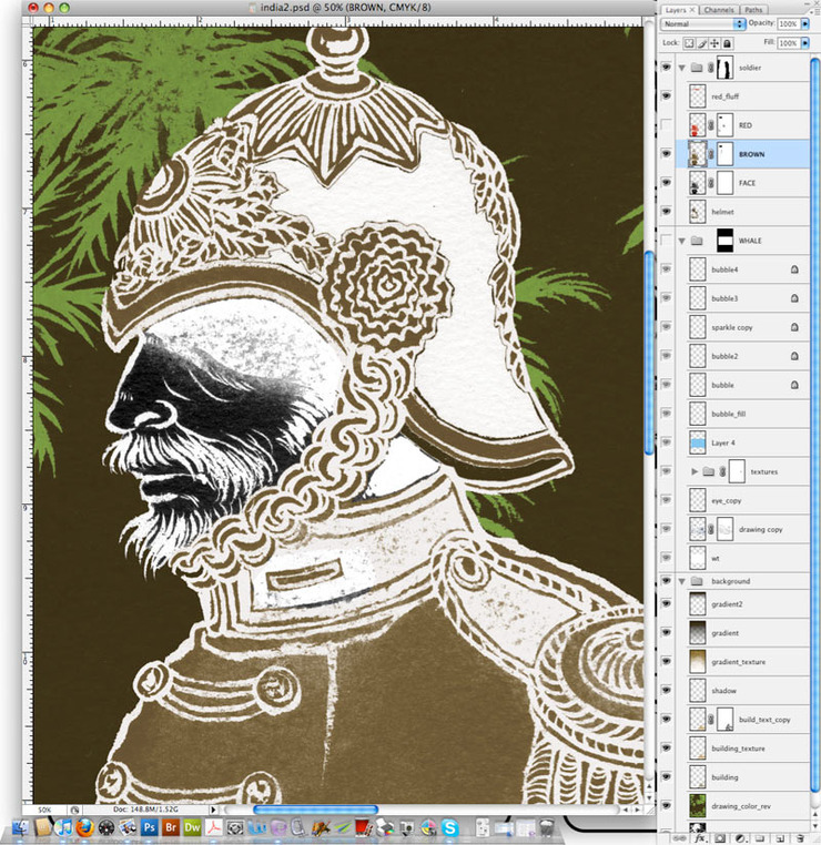 The Unwritten, Issue 5: Photoshop Layers