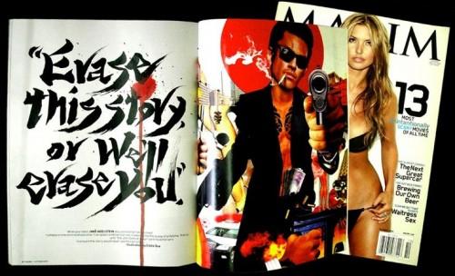 Maxim Magazine (October 2009)