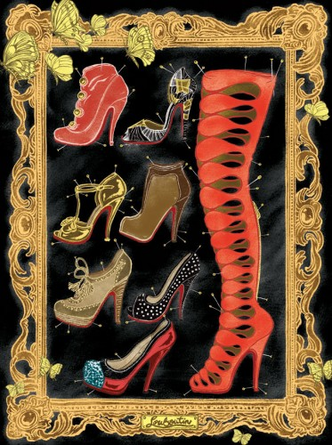 Christian Louboutin - Fall/Winter 2009 Shoe Collection: Submitted Illustration
