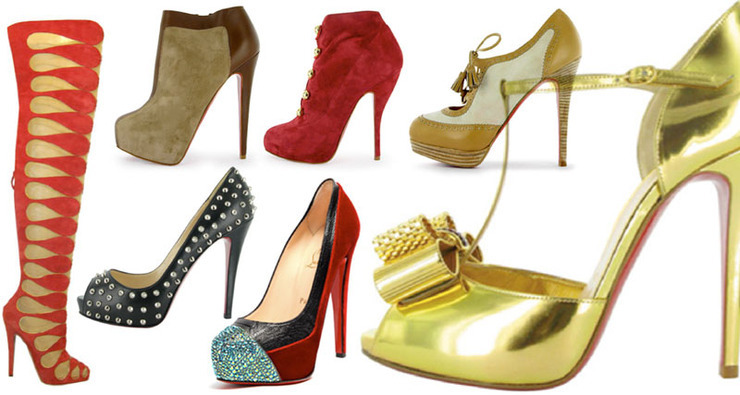Christian Louboutin - Fall/Winter 2009 Shoe Collection: Different Shoes