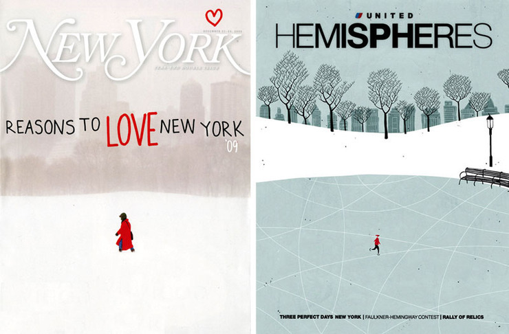 Central Park In The Snow: Book Covers (December 2009)
