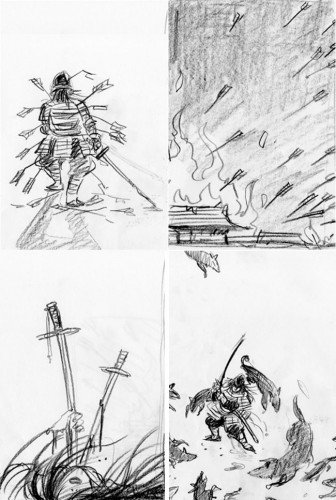 The Beautiful And The Grotesque: Sketches
