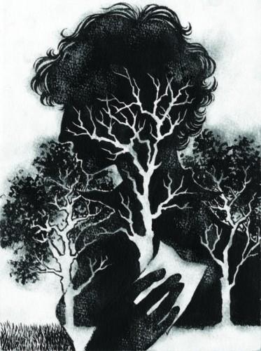More Magazine (March 2010): Watercolor Version