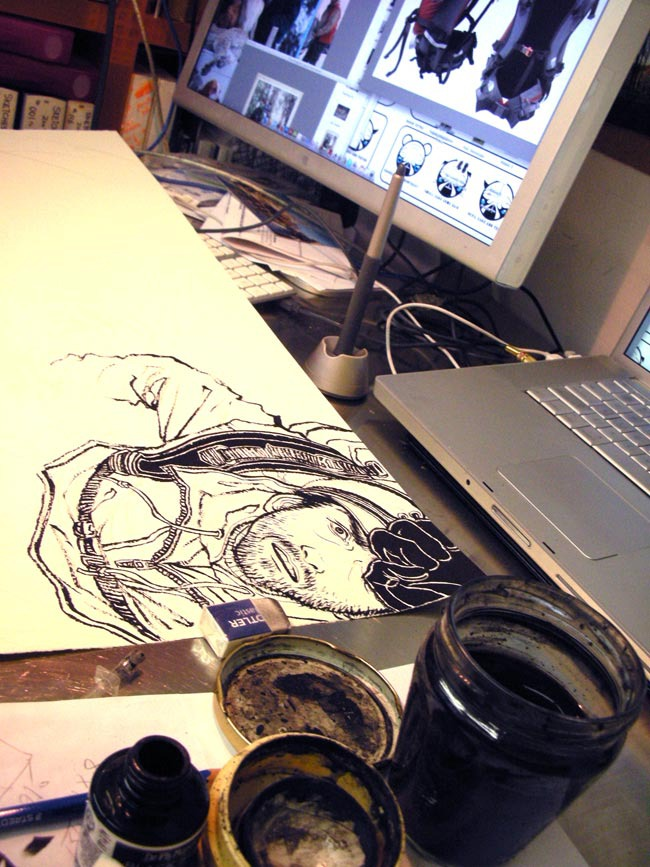 Outdoor Magazine (March 2010): Drawing Table