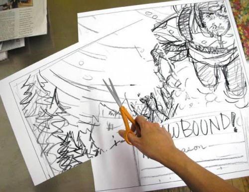 Outdoor Magazine (March 2010): Sketches
