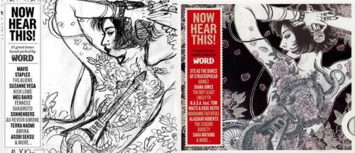 The Word Magazine (March 2010): Now Hear This! - Spread 1