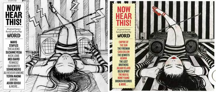 The Word Magazine (March 2010): Now Hear This! - Spread 2