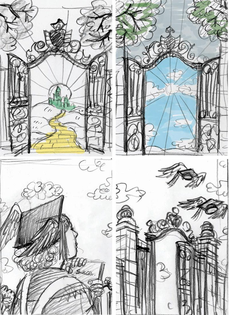 Ronn Campisi Design (April 2010): Sketches 1