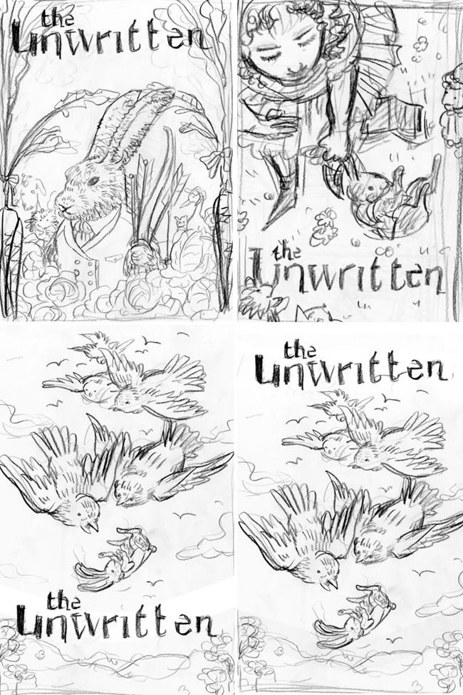 The Unwritten: Issue 12 - Sketches