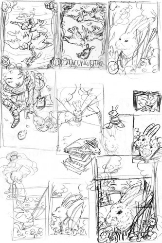 The Unwritten: Issue 12 - Thumbnails