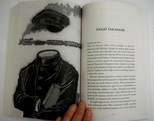 The Beautiful And The Grotesque: Saigo Takamori - Spread