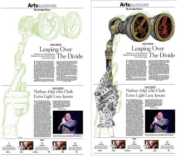 The New York Times (May 2010): Dummy Layout