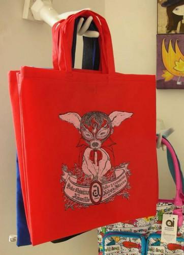Chihuahua Superhero: Tote Bag