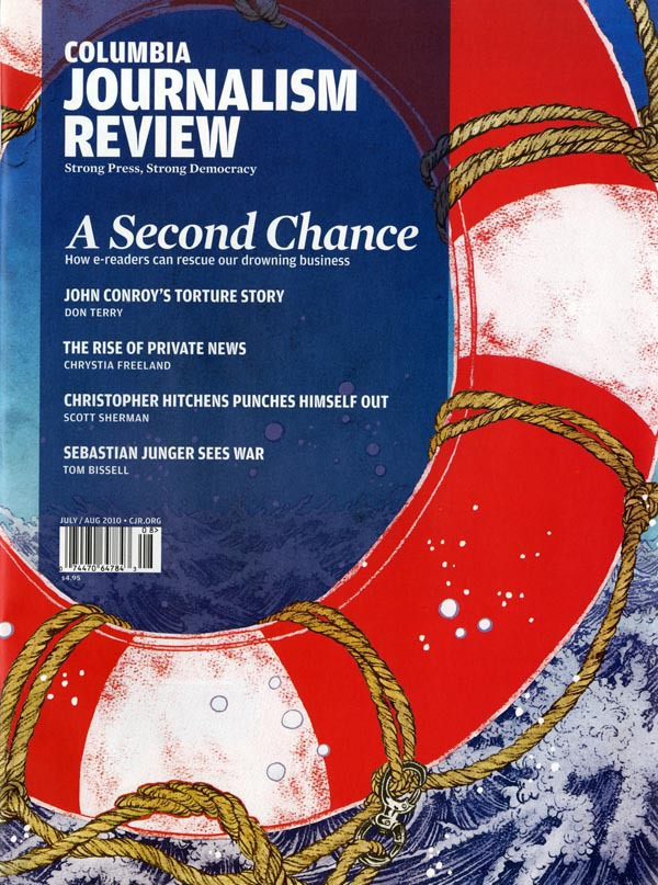 Columbia Journalism Review (July-August 2010): Cover