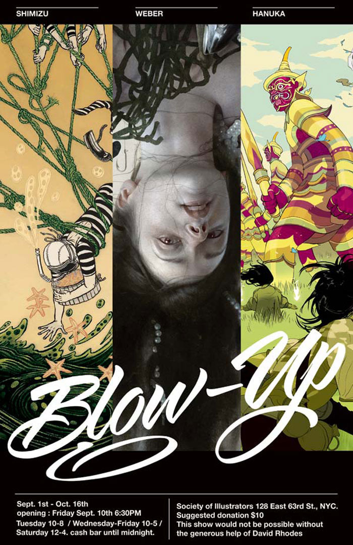 Society Of Illustrators - Blowup (September 2010): Cover