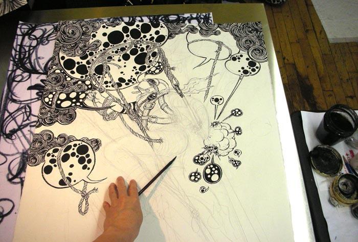 Society Of Illustrators - Blowup (September 2010): New Works 1