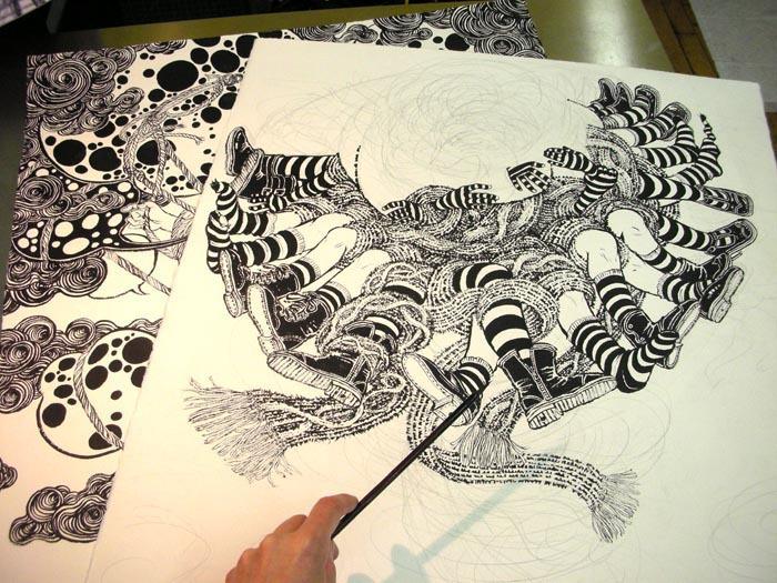 Society Of Illustrators - Blowup (September 2010): New Works 2