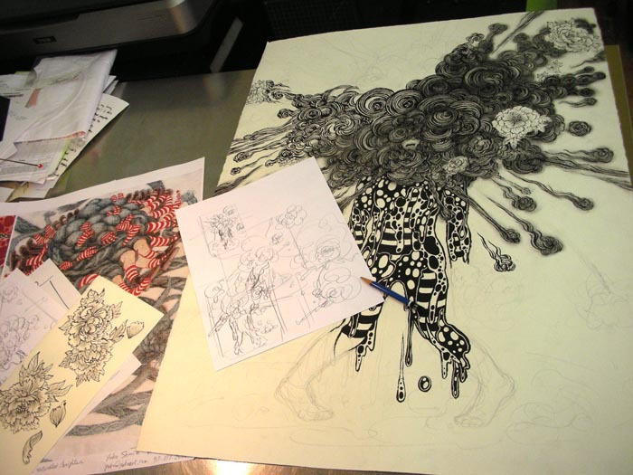 Blow Up (September 2010): Drawing Table 1