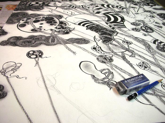 Blow Up (September 2010): Drawing Table 4