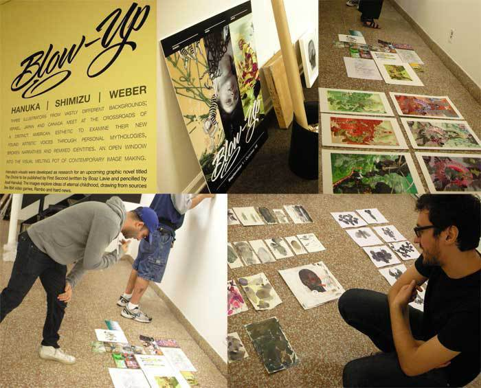 Blow Up (September 2010): Event