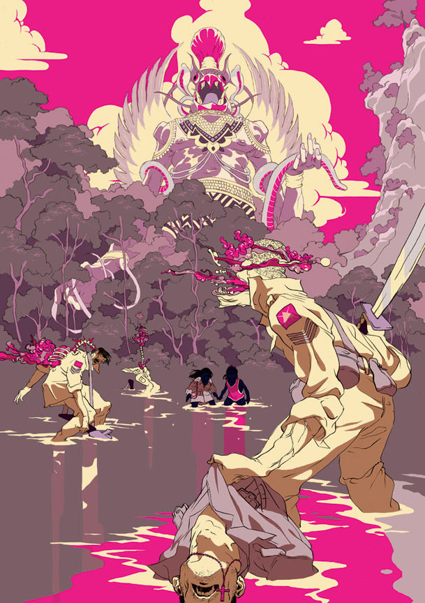 Blow Up (September 2010): Tomer's Illustration