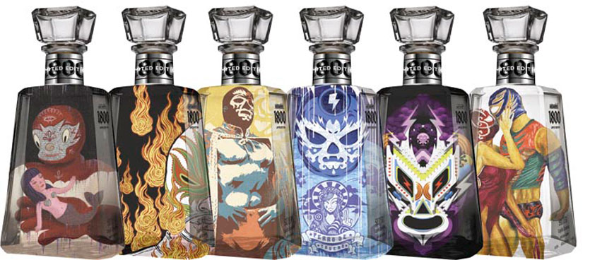 1800 Tequila Lineup